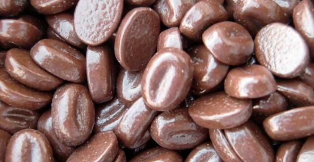 koffiebonen melk chocolade
