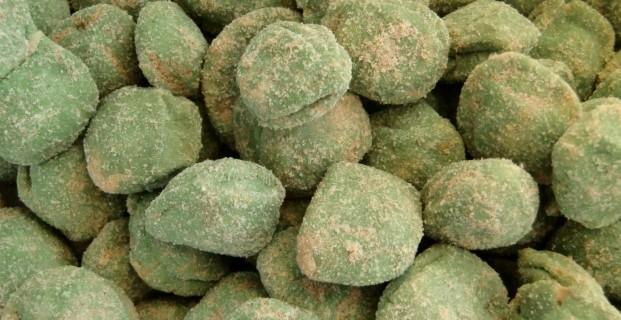 Raviolis wasabi