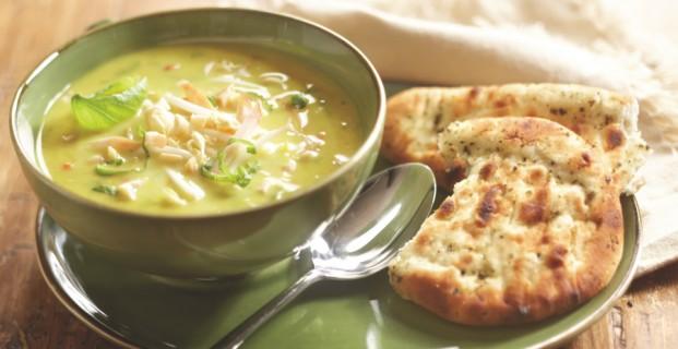 Boeren Kerrie soep met kip